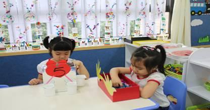 东方红幼儿园区域活动示范场景